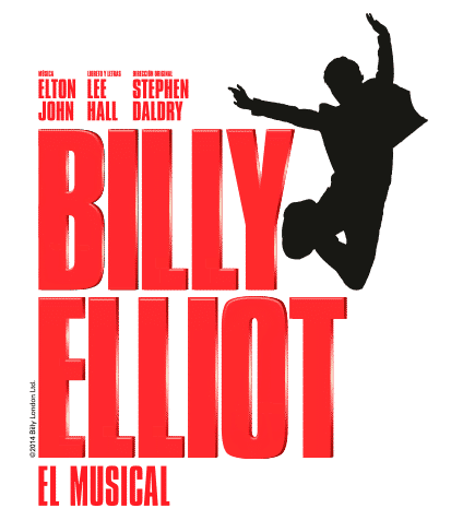 Cartel musical Billy Elliot en Madrid