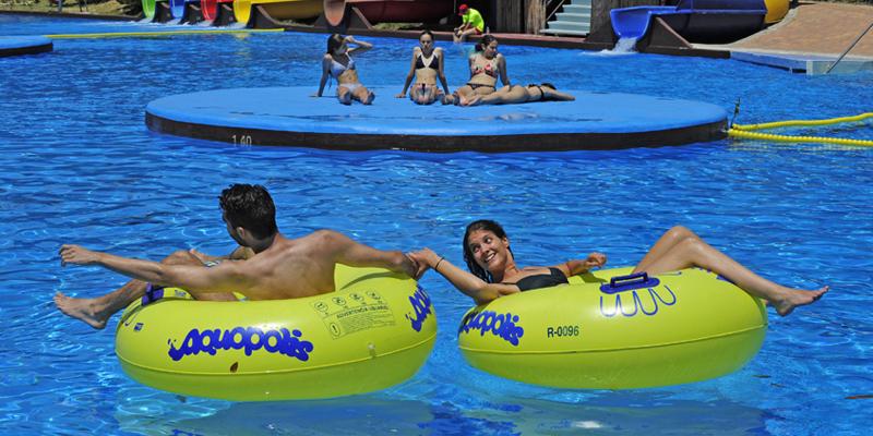 Blue Lagoon en Aquopolis de San Fernando de Henares