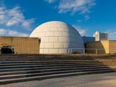 Planetario de Madrid. Cúpula para las proyecciones