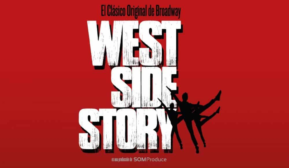 Cartel musical West Side Story, Madrid