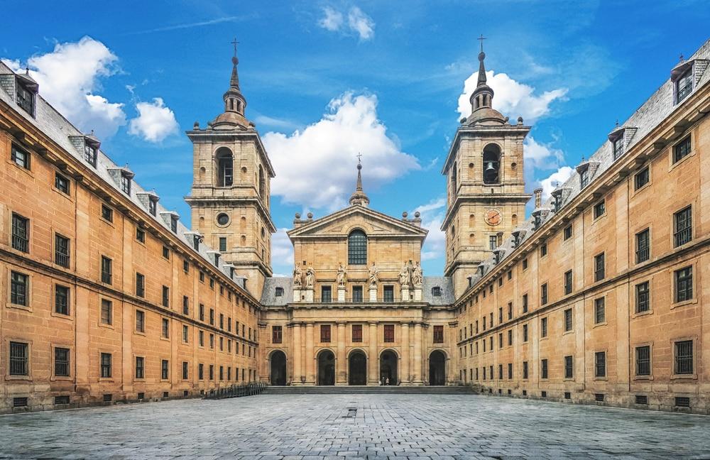 Fachada del monasterio de El Escorial