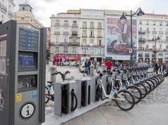 Aparcamiento bicicletas Madrid