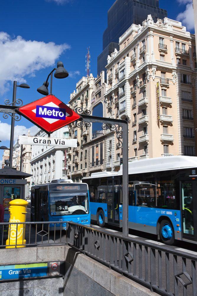 autobús urbano Madrid viajar en bus EMT
