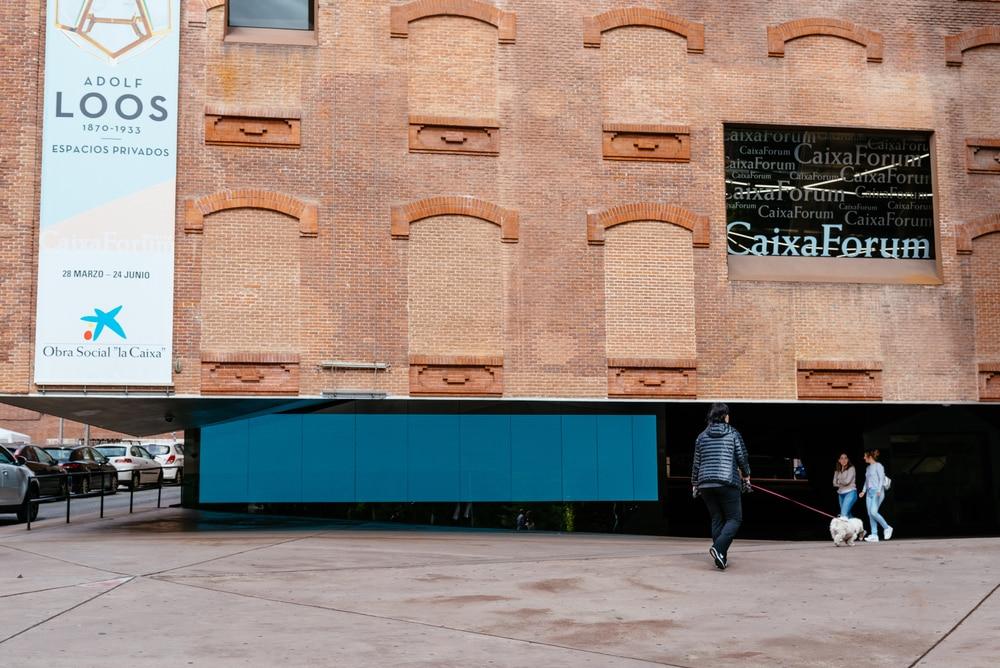 Fachada Caixa Forum Madrid