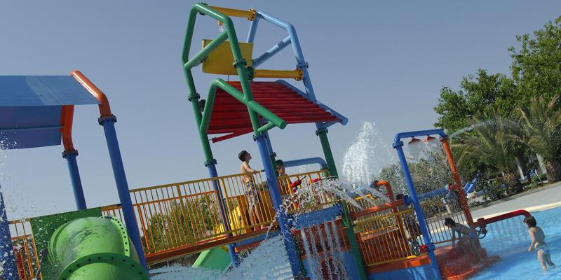 Atracciones infantiles. MiniPark en Aquopolis de Villanueva