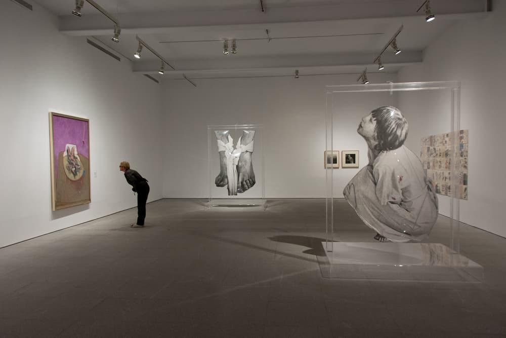 Obras contemporáneas sala del museo Reina Sofía, Madrid