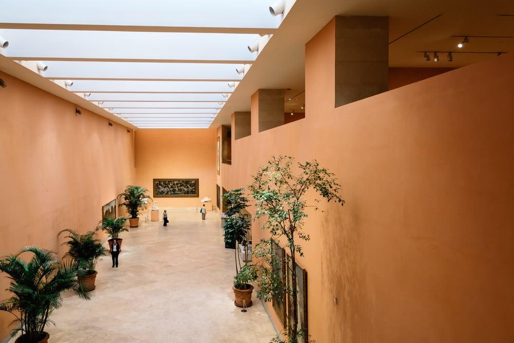 Sala principal del Museo Thyssen en Madrid