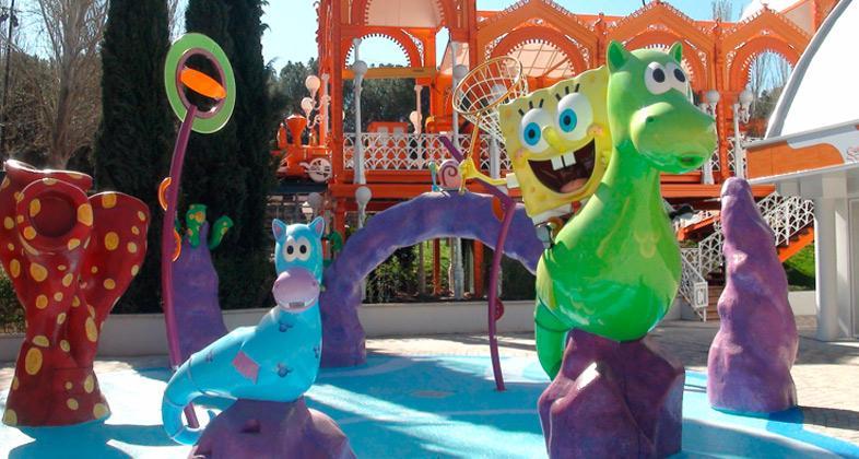 Atracción infantil Nickelodeon parque de atracciones de madrid