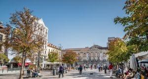 Plaza de Santa Ana en Madrid