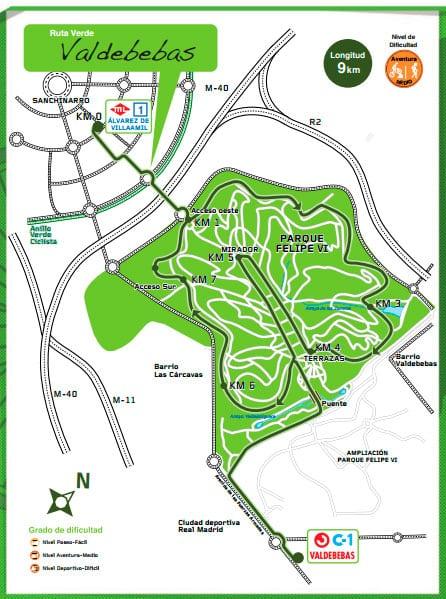 Ruta verda de Valdebebas